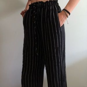 Flowy Striped Pants